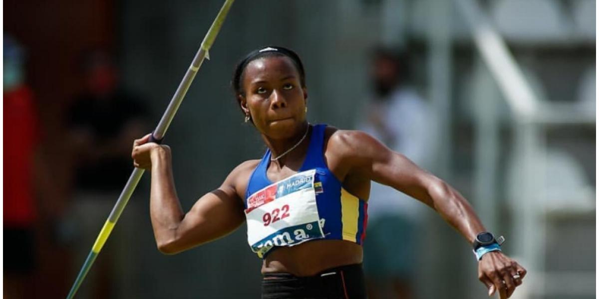 La estudiante de  Tecnología en Educación Física de  logró primer lugar en  el  Campeonato de España de Atletismo.