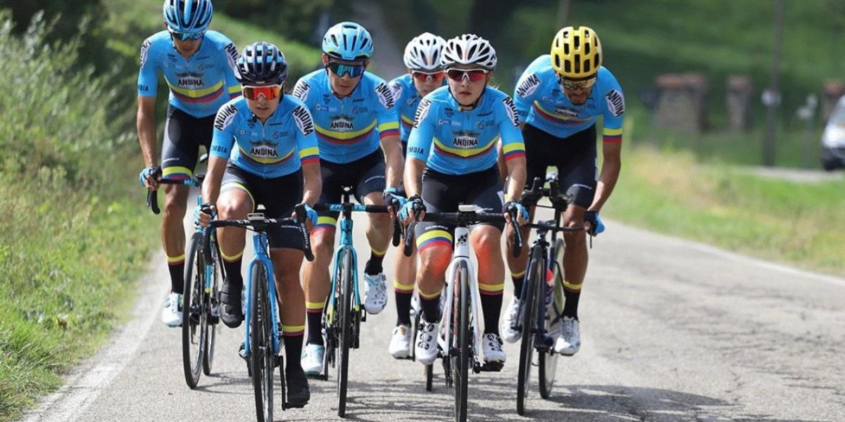 Selección Colombia de ciclismo.