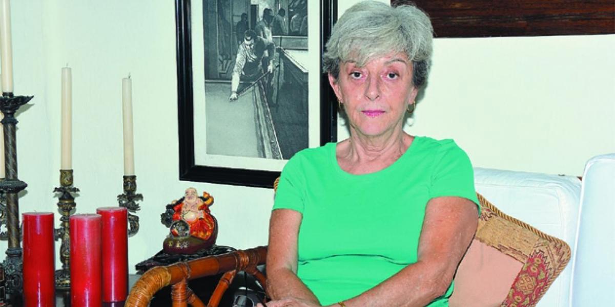 Lola Salcedo fue encontrada sin vida en su residencia.