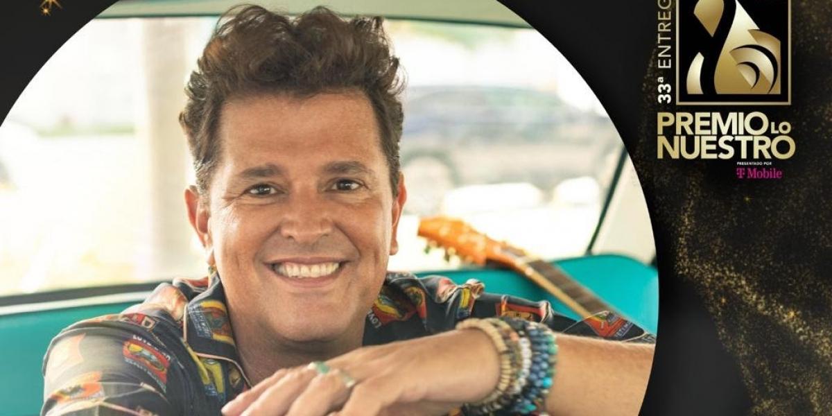 Carlos Vives, cantante samario
