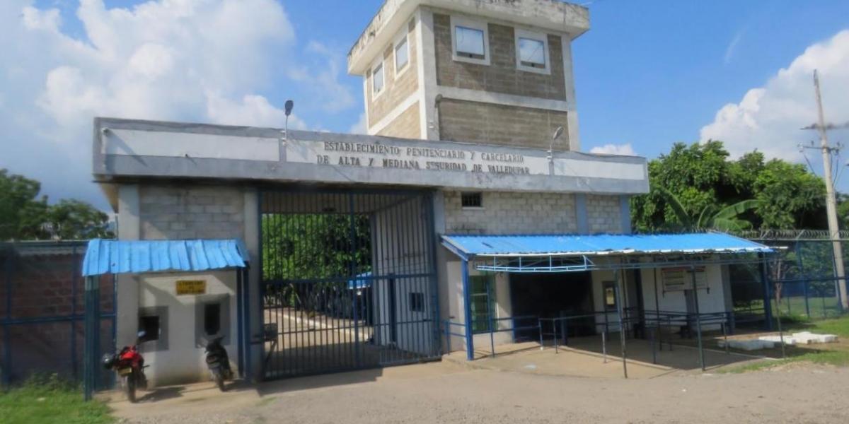 Cárcel La Tramacúa de Valledupar.