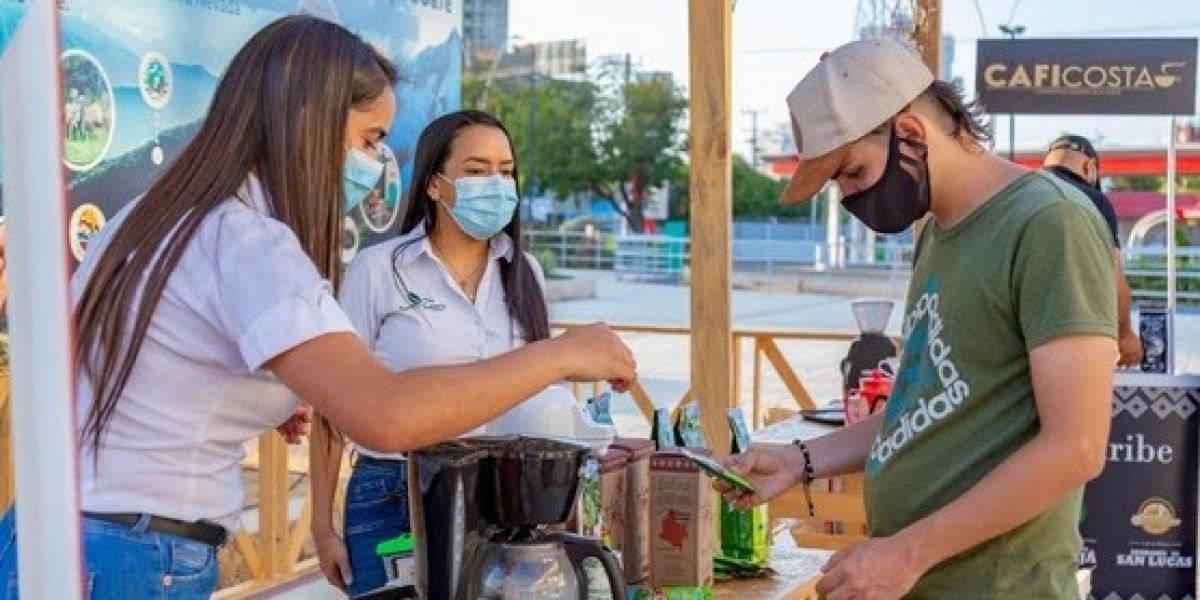 Asociaciones cafeteras que participaron del evento de café en Santa Marta