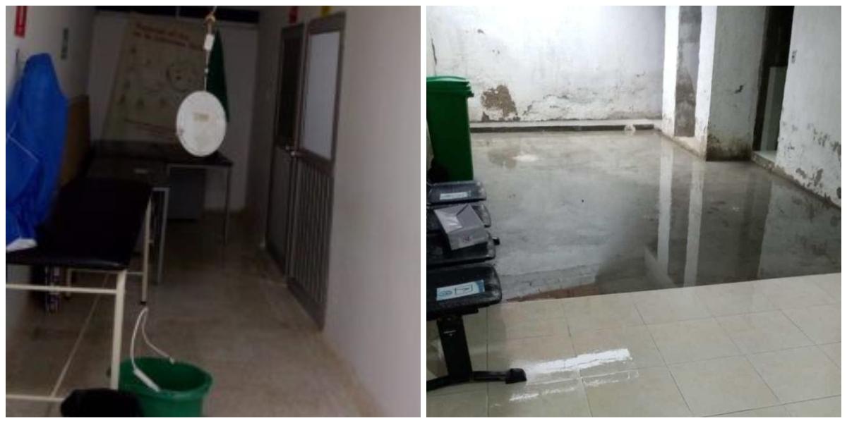 Imágenes que evidenciaron el fuerte aguacero de julio pasado.