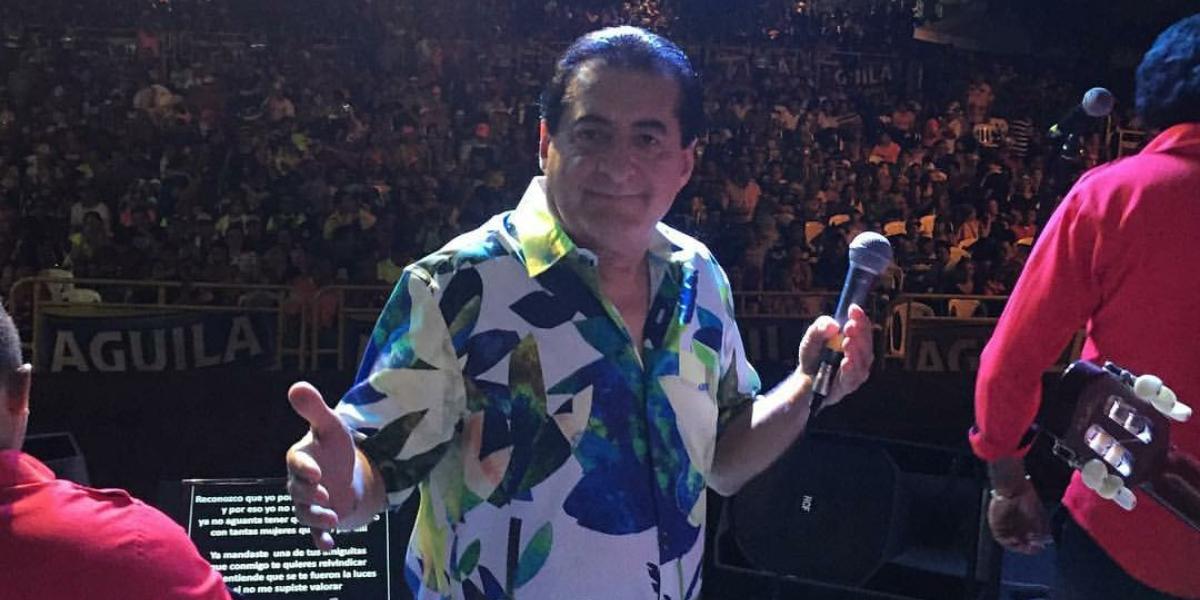 Jorge Oñate, el Jilguero de América, se encuentra en estado crítico.