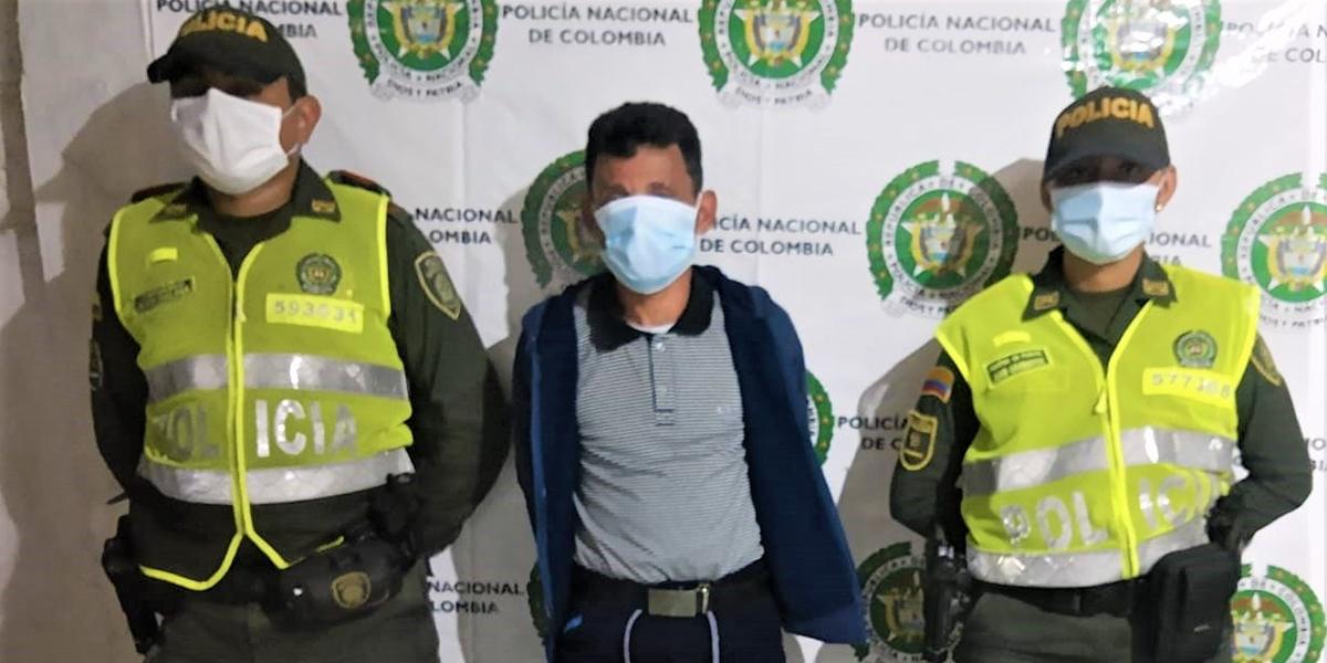 El capturado en Algarrobo tenía una orden de captura por acceso carnal violento.