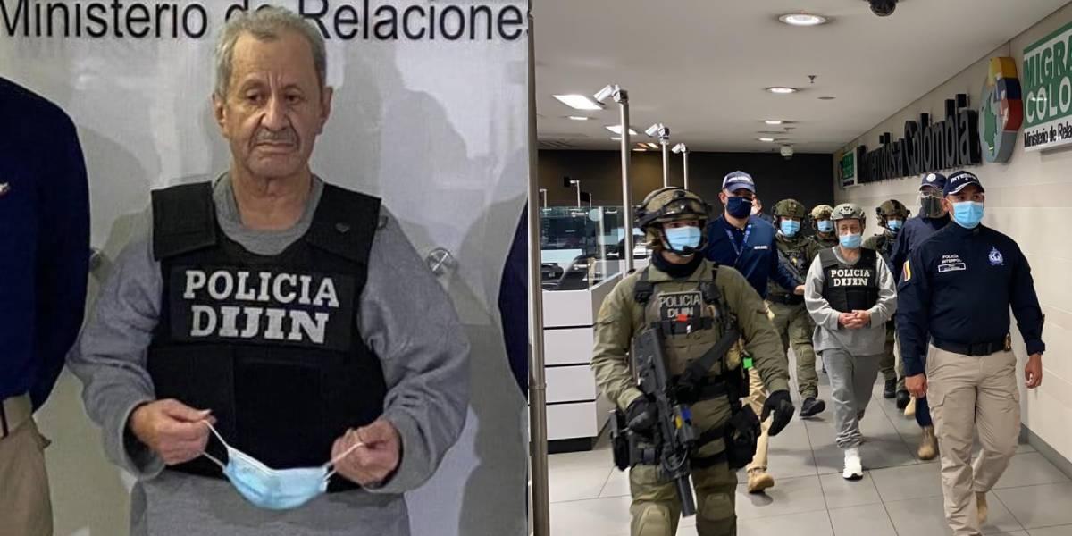 A sus 72 años, Hernán Giraldo regresa deportado a Colombia.