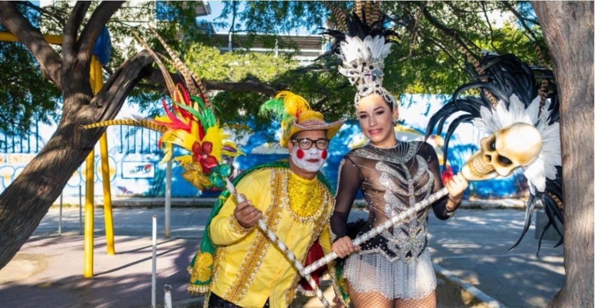 Reyes del Carnaval Virtual de Santa Marta