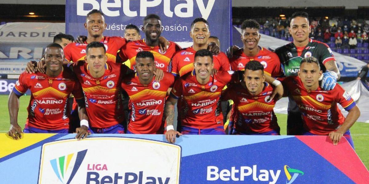 Jugadores del Deportivo Pasto.
