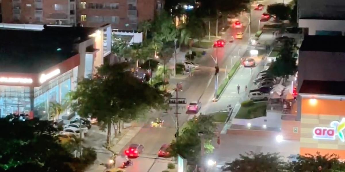 El atentado ocurrió en la carrera 53 con calle 82.