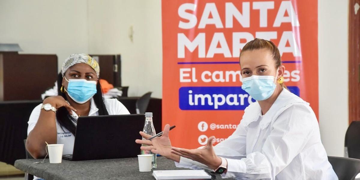 Miembros del PDET Sierra Nevada-Serranía del Perijá en Santa Marta, llegaron a acuerdos para trabajar junto al Distrito.