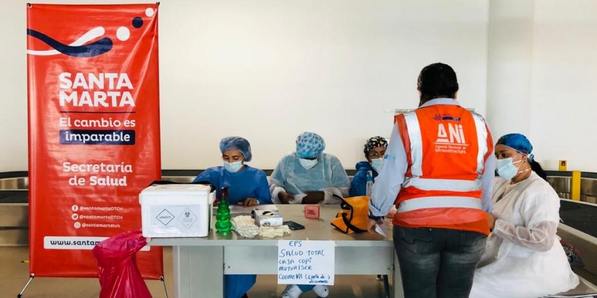 MinSalud disminuyó dosis de vacunas contra Covid-19 para Santa Marta.