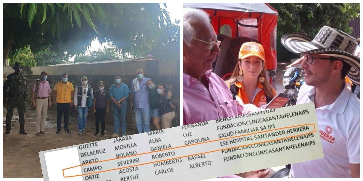 Roberto Campo Severini aparece priorizado en la lista del plan nacional de vacunación en Pivijay.