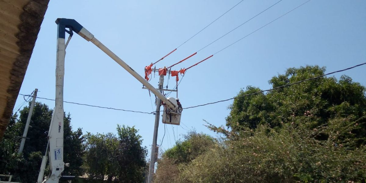 Air-e adelantará trabajos optimización en redes eléctricas de Taganga.