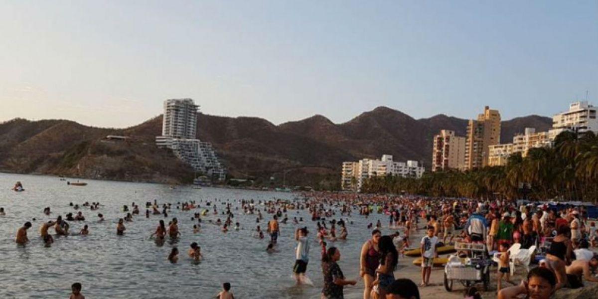 El cuerpo fue hallado en un área cercana a las playas de El Rodadero.