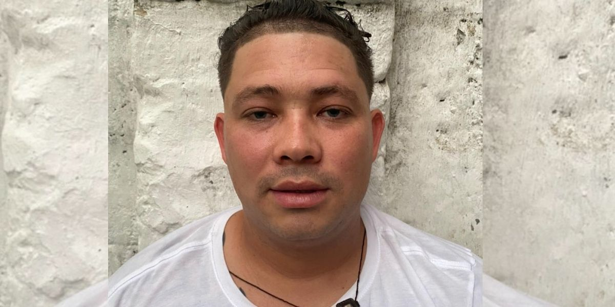 Cristian Villegas, alias 'Mono Paisa'.