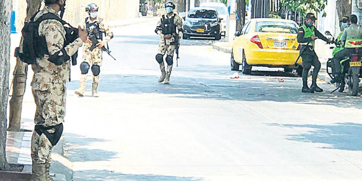En Santa Marta no se necesita el Ejército en las calles.