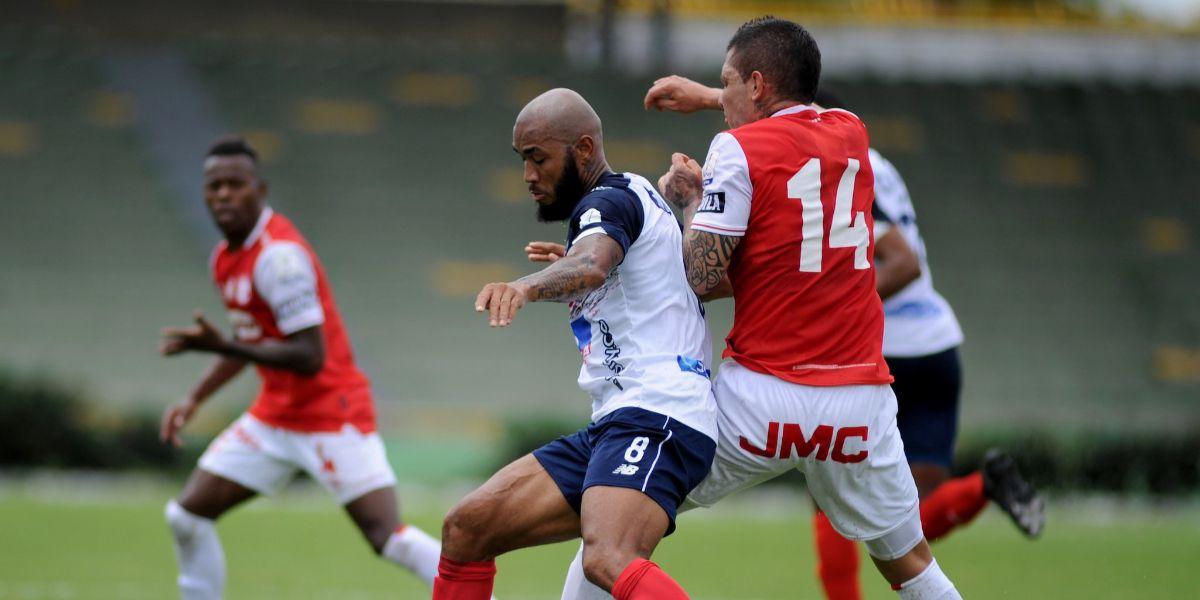 El encuentro entre el cuadro barranquillero y el equipo cardenal terminó 0-0.