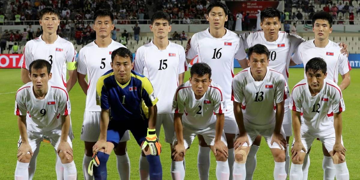 Selección de fútbol de Corea del Norte.