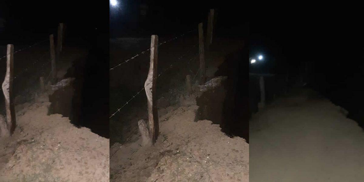 La erosión en Salamina aumenta gravemente.