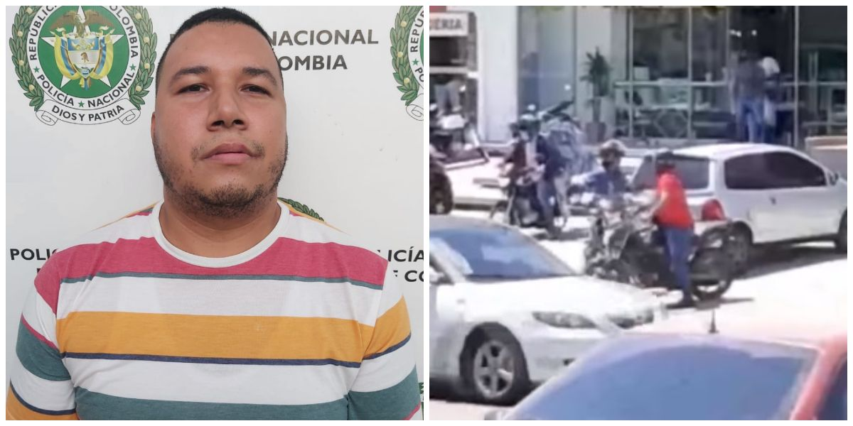 Léiner Alfonso Munive Julio, capturado en Santa Marta por robo a joyería en Barranquilla.