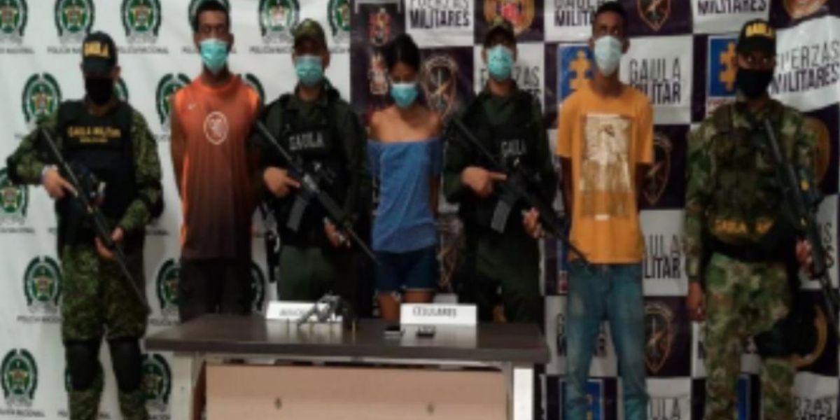Gaula Militar adelantó el rescate en Soledad.