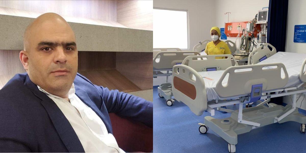 'Checho' criticó a a gerencia del hospital San Rafael.