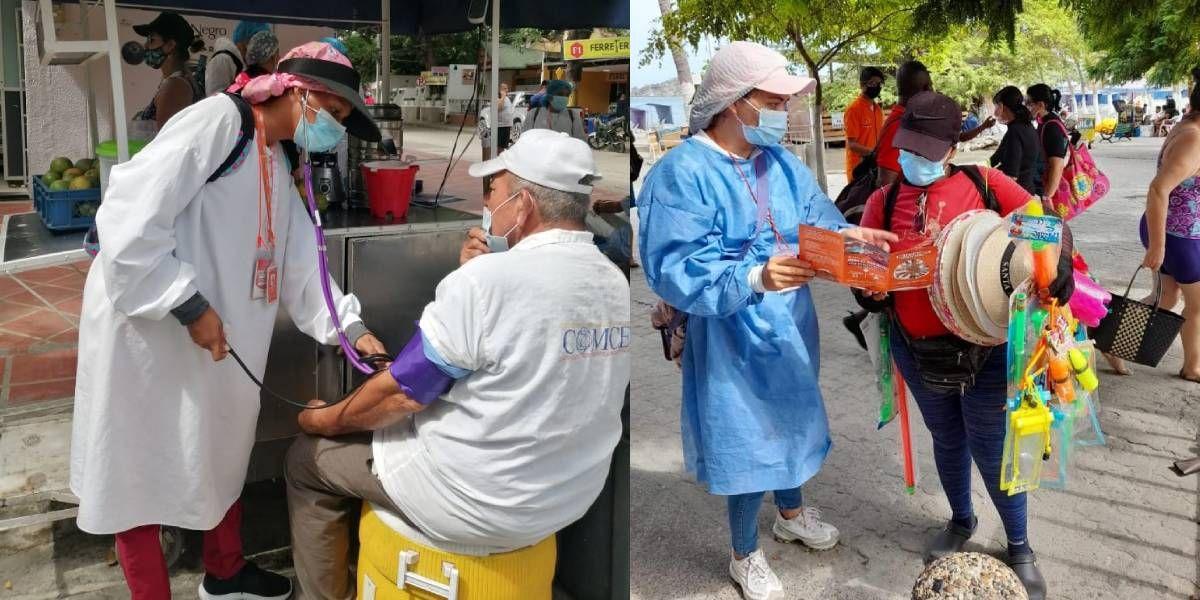 Jornada de salud en El Rodadero.