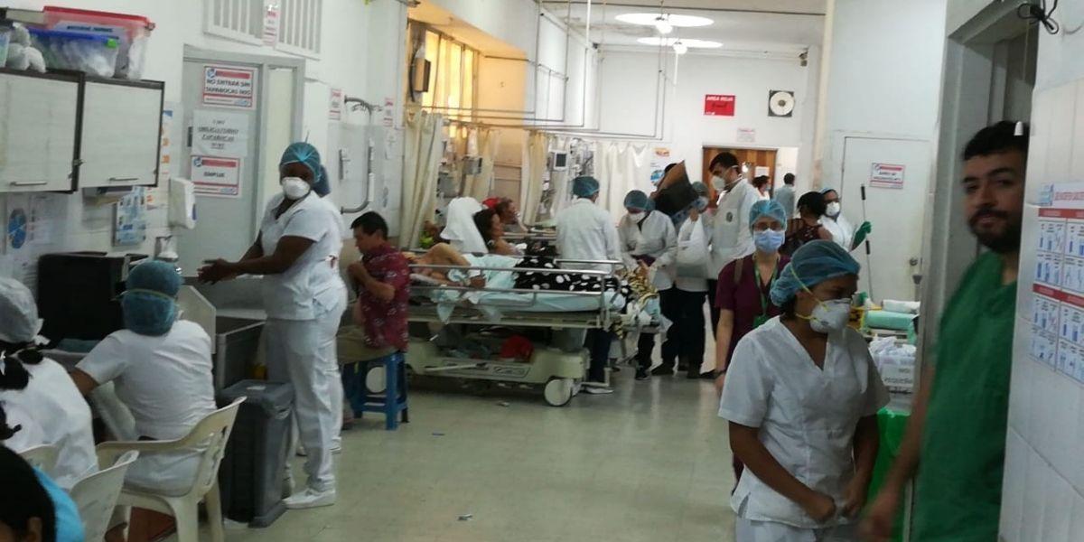 Hospitales en Santander.