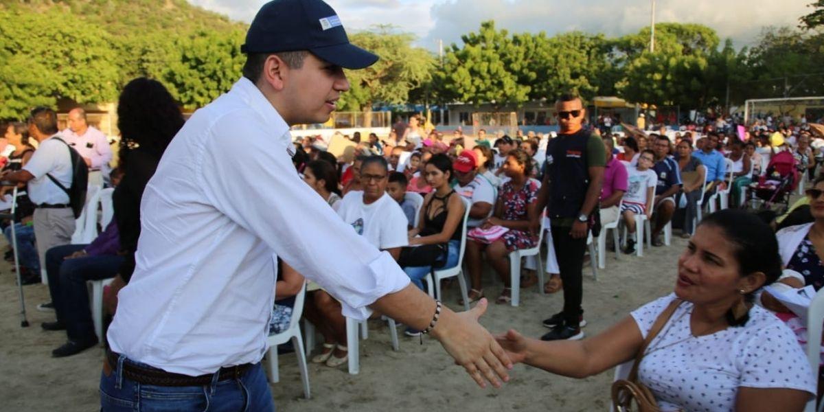 Ministro de Vivienda, Jonathan Malagón.