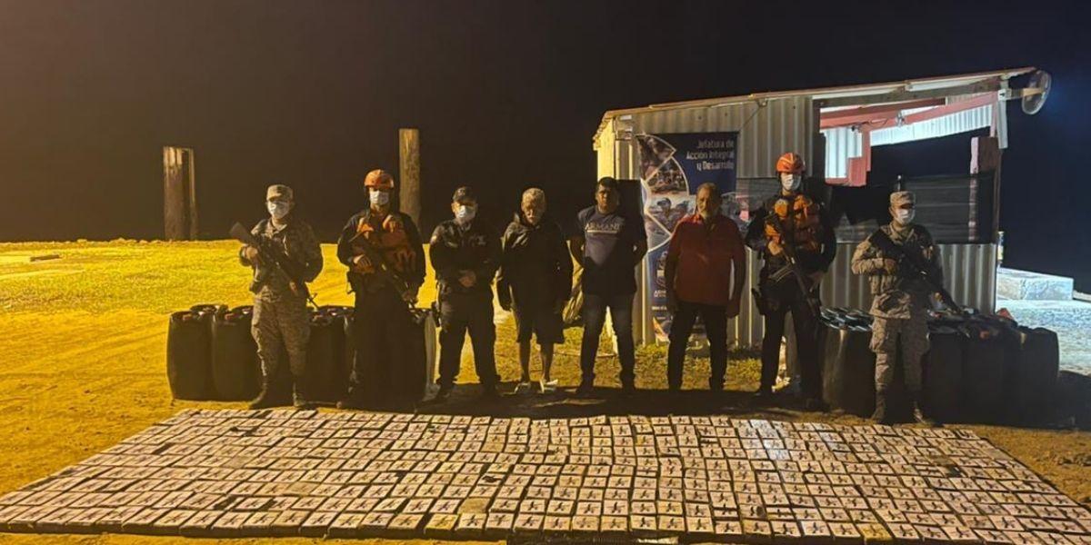 Incautación de droga en La Guajira