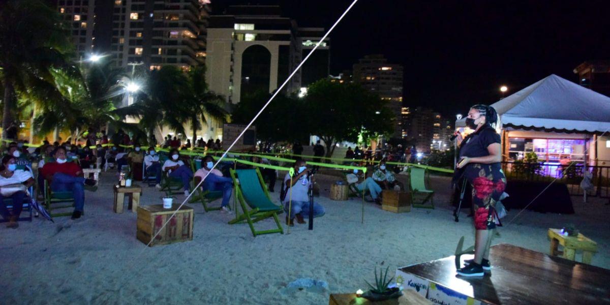 Cultura, brisa y playa: así se vivió el noveno Festival Cine al Mar.