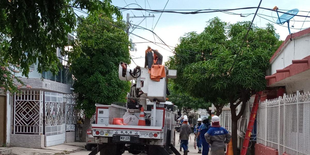La remodelación de la infraestructura eléctrica favorecerá a 1.505 usuarios.