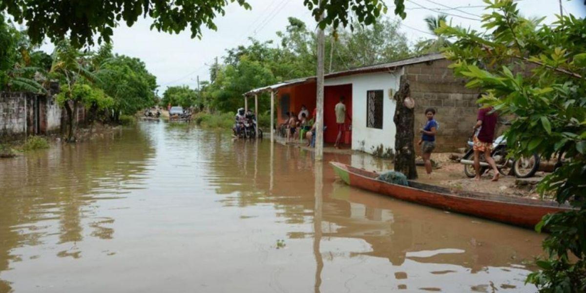 Inundaciones en Sucre.