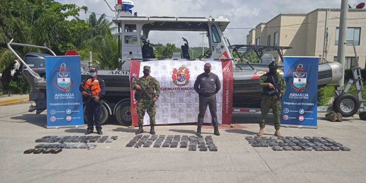 Ejército Nacional halló depósito ilegal.