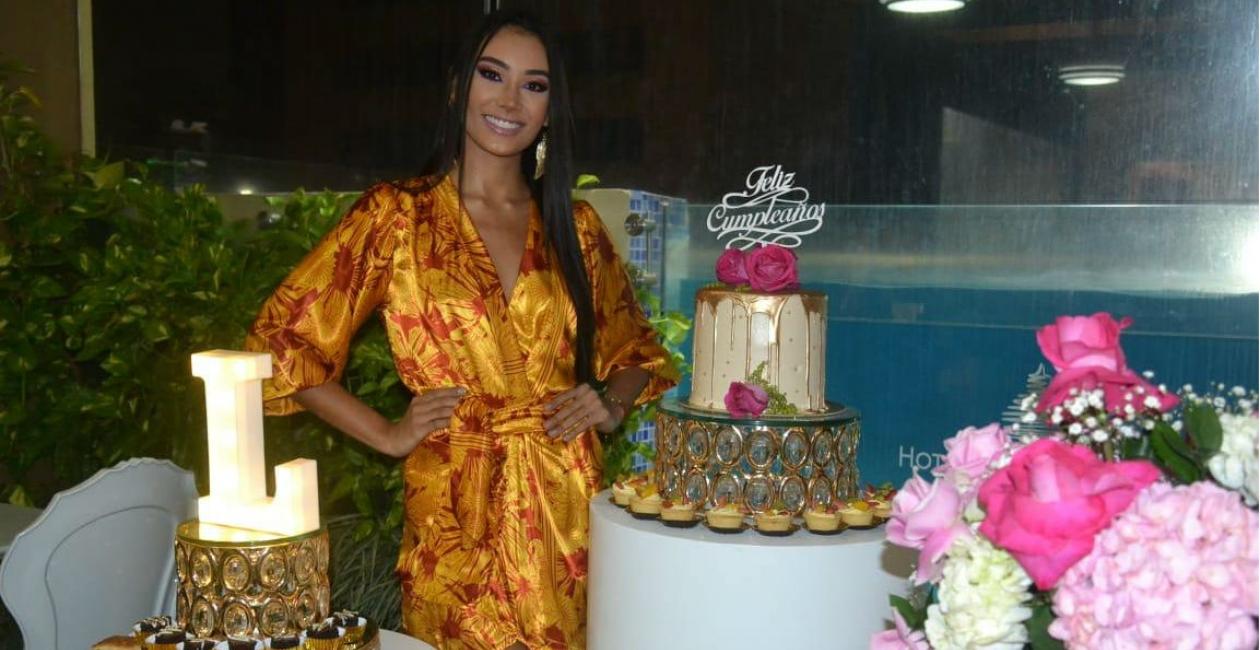 Luisa Cotes Ospino, representante del departamento del Magdalena al Reinado Nacional de la Belleza