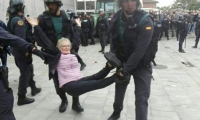 Esta foto fueron publicada por Pablo Iglesias, secretario general de Ahora Podemos.