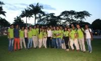 A su arribo a Santa Marta, los representantes de Unimagdalena fueron recibidos en la Institución por el rector Pablo Vera Salazar Ph.D.