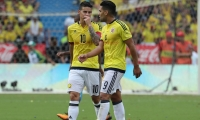 James Rodríguez y Radamel Falcao García.