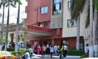 El menor se encuentra recluido en la Clínica General del Norte de Barranquilla.