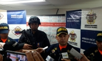 Rueda de prensa de la Armada Nacional