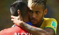 Neymar y Alexis Sanchez