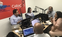 El debate se llevó a cabo este viernes en la mesa de Caracol Radio Santa Marta.