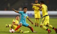 Colombia derrotó 2-1 al combinado local del Mundial sub 17
