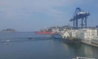 Puerto de Santa Marta.
