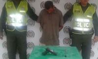 El presunto homicida fue capturado por las autoridades.