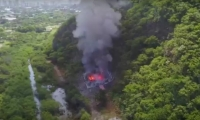 La explosión en el batallón Córdova ocurrió el 4 de septiembre de 2017.