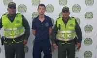 Daniel Alfonso Manrique Gutiérrez fue capturado luego de cometer el hurto.