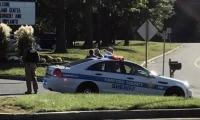 Lugar donde se presentó el tiroteo en Maryland.