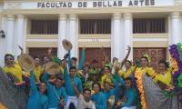 Grupo de Danza de la Unimag, ganador del Festival Ascun