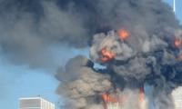 Momentos del atentado a las Torres Gemelas.